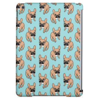 The Cute Black Mask Fawn Frenchie Needs Attention iPad Air Cases