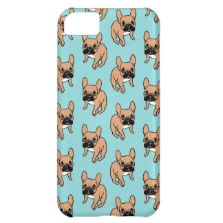 The Cute Black Mask Fawn Frenchie Needs Attention iPhone 5C Covers