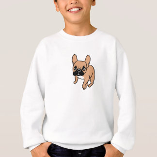 The Cute Black Mask Fawn Frenchie Needs Attention Sweatshirt