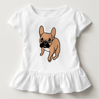 The Cute Black Mask Fawn Frenchie Needs Attention Toddler T-shirt