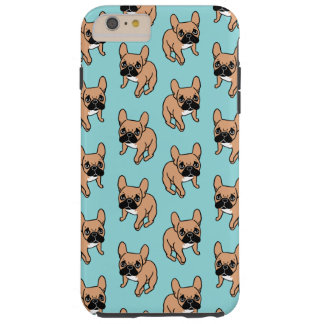 The Cute Black Mask Fawn Frenchie Needs Attention Tough iPhone 6 Plus Case