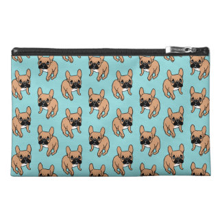 The Cute Black Mask Fawn Frenchie Needs Attention Travel Accessory Bag