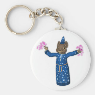 The Cute Cartoon Wizard Mouse Keychain