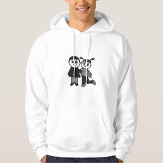 The cute couple hoodie