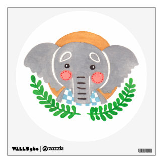 The Cute Elephant Nursery Wall Art Wall Sticker