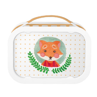 The Cute Fox Lunch Boxes