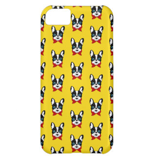 The cute Frenchie scout is ready for his adventure Case For iPhone 5C