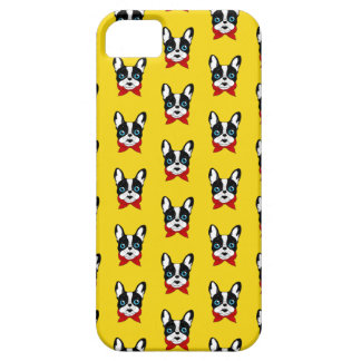 The cute Frenchie scout is ready for his adventure iPhone 5 Case