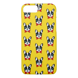The cute Frenchie scout is ready for his adventure iPhone 8/7 Case