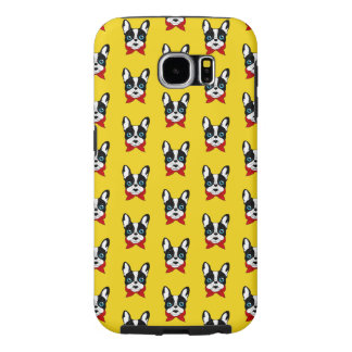 The cute Frenchie scout is ready for his adventure Samsung Galaxy S6 Cases