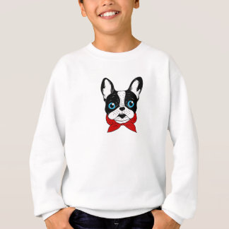 The cute Frenchie scout is ready for his adventure Sweatshirt