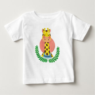 The Cute Giraffe Baby T-Shirt