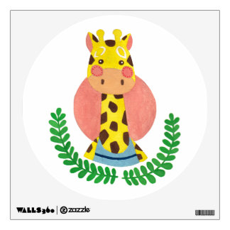 The Cute Giraffe Nursery Wall Art Wall Decal