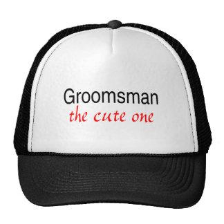 The Cute Groomsman Trucker Hat