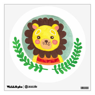 The Cute Lion Nursery Wall Art Wall Decal