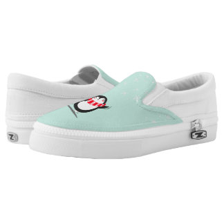 The Cute Penguin Slip-On Sneakers
