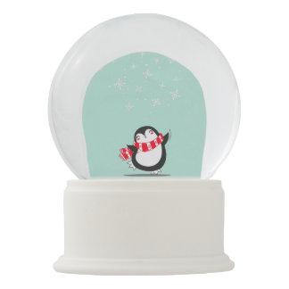 The Cute Penguin Snow Globe
