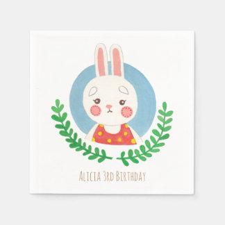 The Cute Rabbit Disposable Napkin