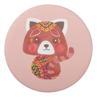 The Cute Red Panda Eraser