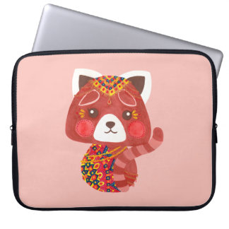 The Cute Red Panda Laptop Computer Sleeves