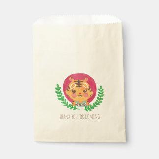 The Cute Tiger Favour Bag