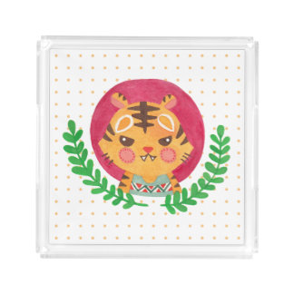 The Cute Tiger Serving Tray