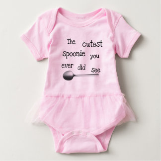 The cutest spoonie baby bodysuit