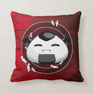 The cutest Vampire Throw Pillow