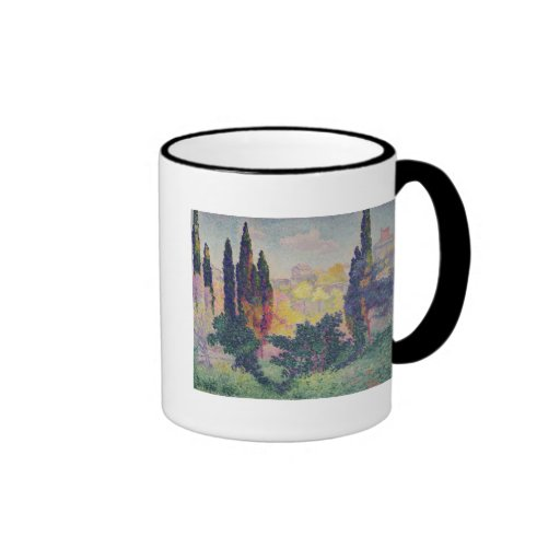 The Cypresses at Cagnes, 1908 Mugs