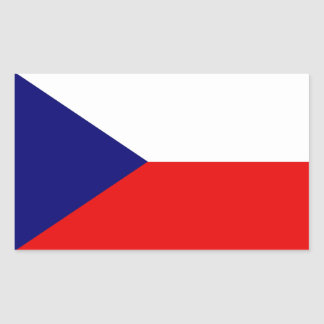 The Czech Republic Flag Sticker