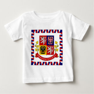 The Czech Republic President Flag Baby T-Shirt