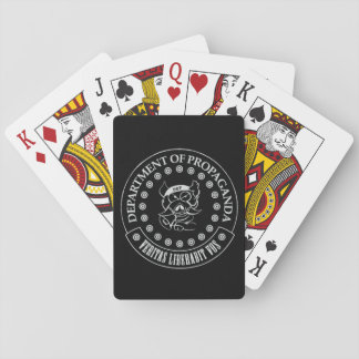 The D.O.P. - S.A. Hogg Playing Cards (Black)