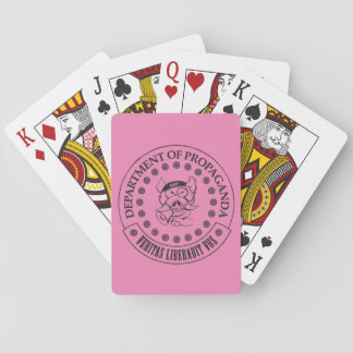 The D.O.P. - S.A. Hogg Playing Cards (Pink)