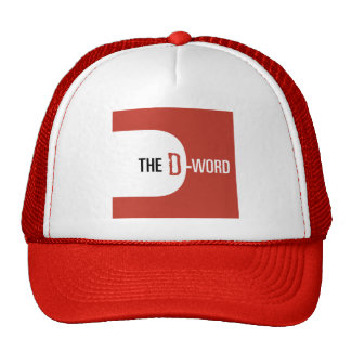 The D-Word hat