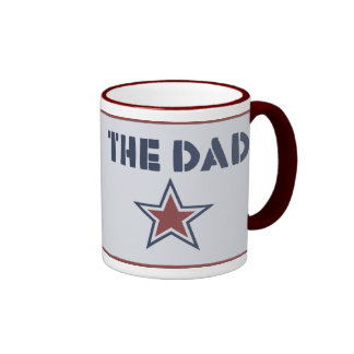 THE DAD RINGER COFFEE MUG