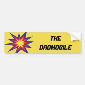 The DADmobile Bumper Sticker