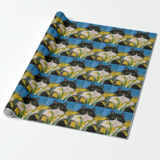 The Daffodil Inspector wrapping paper