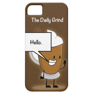 The Daily Grind iPhone 5 Cover