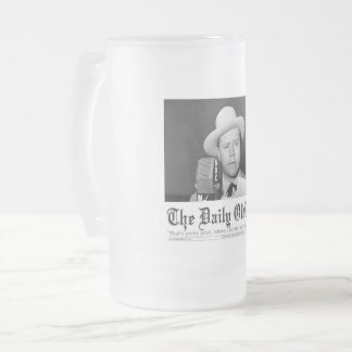 The Daily OldTime Frosted Beer Mug