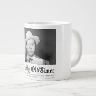 The Daily OldTimer Jumbo Coffee Mug