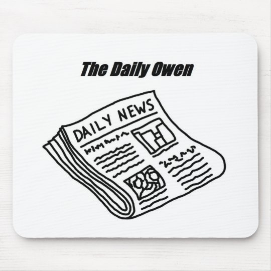 The Daily Owen Mouse Pad