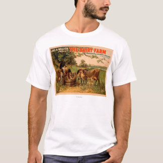 The Dairy Farm a Romance of Sleepy Hollow Play T-Shirt