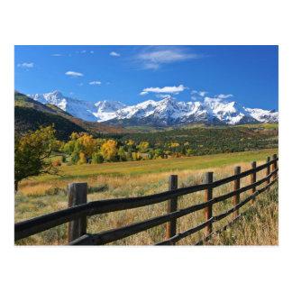 The Dallas Divide near Ridgway, Colorado... Postcard