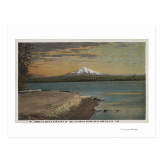 The Dalles, Oregon - Mt. Hood from Columbia Rive Postcard