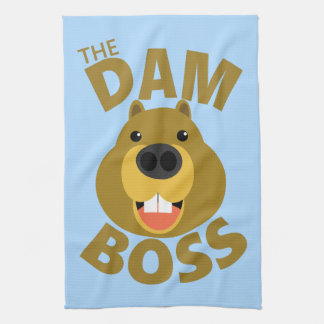 The Dam Boss Kitchen Towel