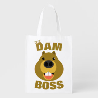 The Dam Boss Reusable Grocery Bag
