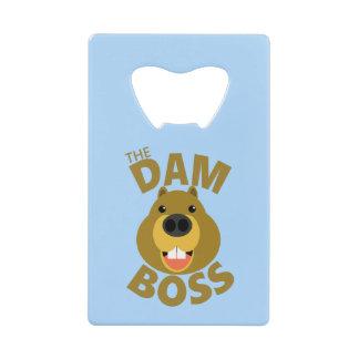 The Dam Boss Wallet Bottle Opener