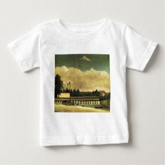 The Dam by Henri Rousseau Baby T-Shirt