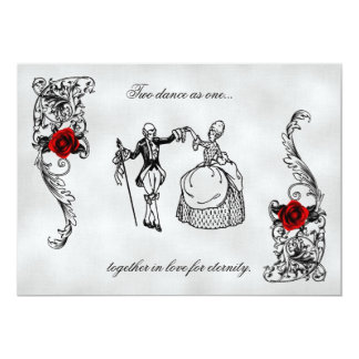 The Dance Gothic Wedding Invitations