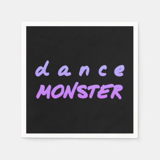 The Dance Monster Disposable Napkin